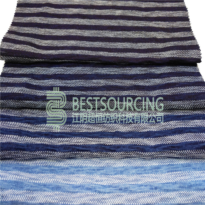 Best price cotton knit denim fabric for shirt