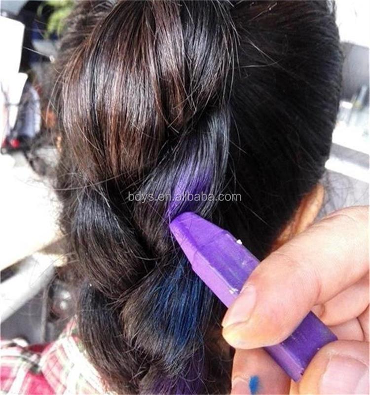 Colorful Crazy Hair Dye Temporary Hair Color Stick Hair Dye Stick