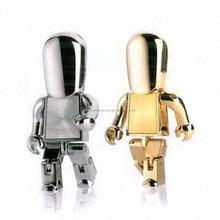 Cool style iron man usb flash drive with mini model