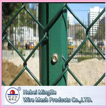 For Security chain link fence stainless steel chain link fence(professional manufacturer)