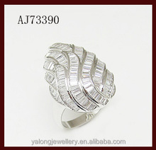 2015 good quality nice price wave design ring for female