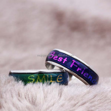 Top Gifts2015 Good Luck Fashion Mood Rings For Teen Girls and Students Wholesale from Yiwu City