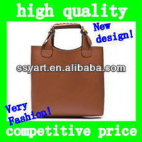 2012 Hot Sell New Europe style leather Simple Fashionable designer handbags brand big bags for women Female Girl