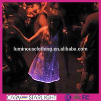 2015 hot sale fashion led lighting luminous sexy dance dresses
