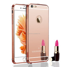 New Arrival Mobile Phone Mirror Case For Iphone 6S Case, rose gold mirror case for iphone 6s
