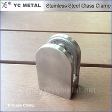 316 en acier inoxydable D Stain Glass Clamp pour balustrades