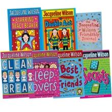 Jacqueline Wilson Collection 7 Books Set (double act, Secrets & more)