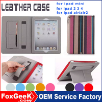 2015 newest China products ultra slim tablet case for ipad air 5 mini tablet case for 7 9 10 inch with card slot and handstrap