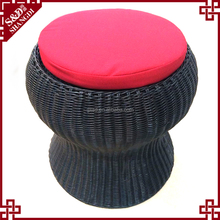 China Factory Wear-Resistance Wicker Soft Footstool