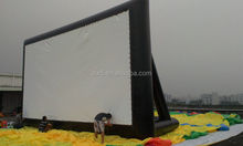 Commercial Outdoor Inflatable Movie Screen For Advertisement