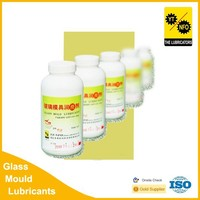 Glass packaging products mold lubricating grease oil