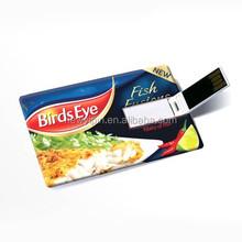 business card usb 2gb oem usb flash card flip card usb pendrive