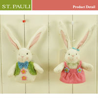 Pretty Felt easter decoration easter rabbit sisal