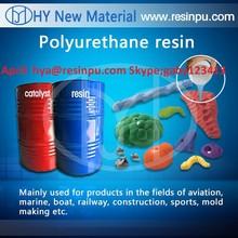 polyurethane casting resin for climbing holds