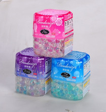 300g Colored Crystal beads air freshener