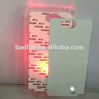 LED sublimation phone case for samsung galaxy note 2 blank sublimation mobile phone cover