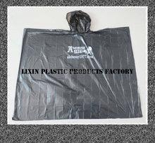 PE Material Cheap Disposable Raincoat / rain poncho