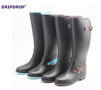 2015 latest design long riding boots horse sex ladies rain boots