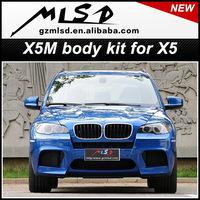 Auot part X5 E70 to E70 X5M SUV body kit wide body kit x5m body kit conversion