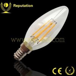 Vintage design C35 2W 4W 6W led filament candle bulb
