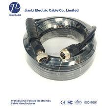 4 pin adaptador de corriente cable a prueba de agua eléctrico cable