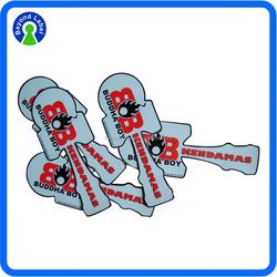 High Quality Print Adhesive Die Cut PVC Vinyl Sticker, Individually Custom Waterproof Adhesive PVC Sticker