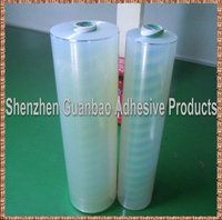 Self adhesive gloss transparent film bopp for label lamination
