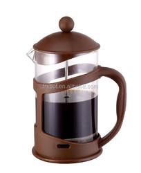 Hot Sale coffee plunger Borosilicate glass coffee maker