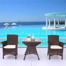 outdoor rattan furniture dinning display table set