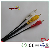 3RCA to 3RCA cable /CCA/CU RCA Cable from China