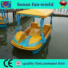 commercial hot sale attractive kids and adult pedal boat for sale