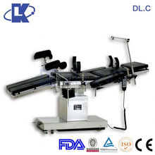 with soft joint comfortable 3-crank manual hospital bed ISO electric hydraulic surgery table POPULAR
