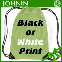 Promotional wholesale sports small drawstring bag