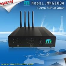 Low price Voip GSM Gateway 4 sim cards gateway