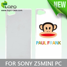 High quality sublimation PC mobile case for Sony Z5 MINI
