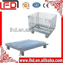 wire rolling storage cage for storage