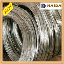 Zingué galvanisé fil de fer galvanisé à chaud fil électrique fil galvanisé