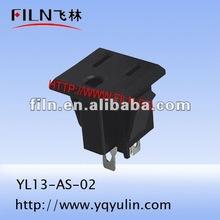 YL13-AS-02 duplex AC power socket outlet 110 volt