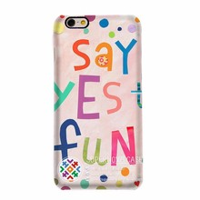 Heat Transfer Phone Case,Custom Printed Cell Phone Cover Used for All Types,Letter Case