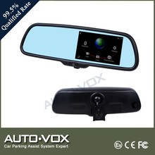 5 inch car dvr rearview mirror GPS navigation