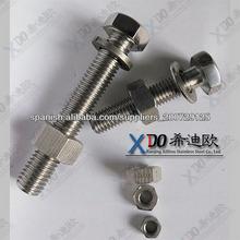 2205 S31803 S32205 pernos hexagonales cerrojo importador resistencia a la tracción varilla roscada