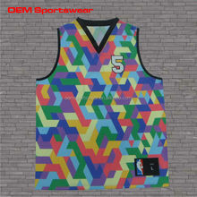 Design your own camo basketball jersey custom