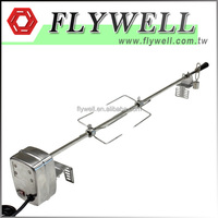 Gas Electric Stainless Steel Chicken BBQ Rotisserie Spit