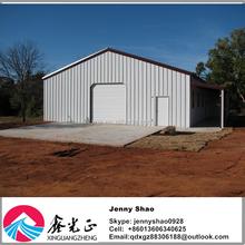 Economical Portable Steel Frame Car Garage Sheds / Carports For Sale