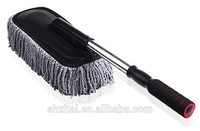 50pcs Long handle water flow brush, car cleaning brush with telescopic long handle window glass cleaning tube brush