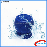 2015 Waterproof mini bluetooth speaker with sucker function for shower