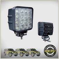 6000K Waterproof 48w led work light for motorcycle