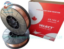 welding consumables in china coated welding wire er70s-6