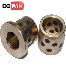 Customized soild lubricant guide bushing