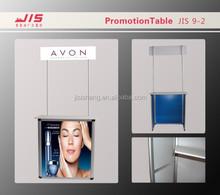 MDF board,Alumnium pole promotion table ,Folded Promotor JIS9-2